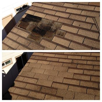 Before/After Roof Repair