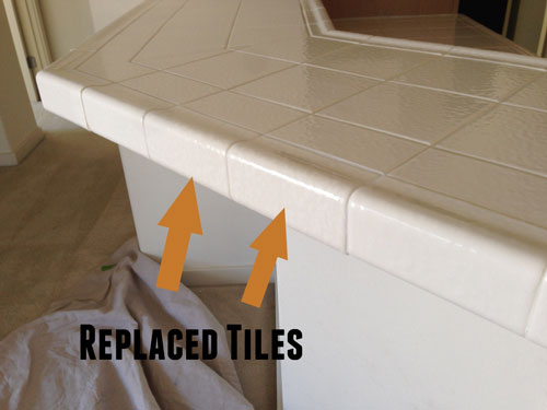 Tile Repair by Dan