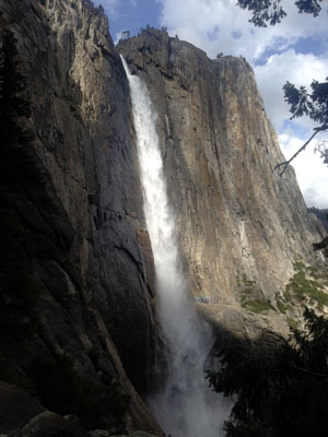 Upper Falls in Yosemite