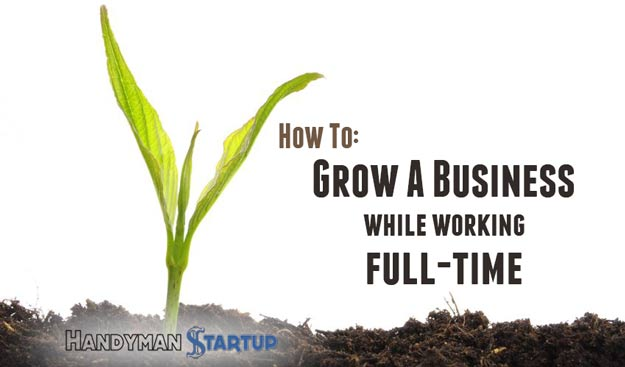 Start a business while working full time