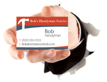 Handyman business cards made easy handyman business card colourmoves
