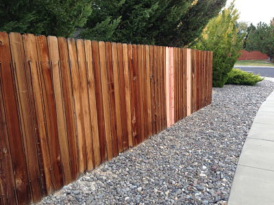 fence after repair