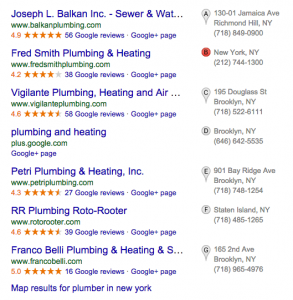 online listing reviews