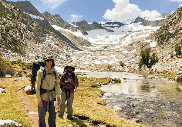 Hiking John Muir Trail Yosemite