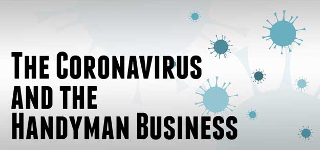 Coronavirus impact on handyman business